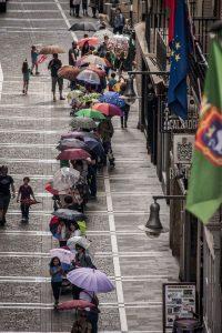 Cadena de paraguas