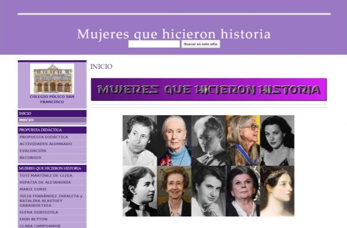 Historia egiten duten emakumeak