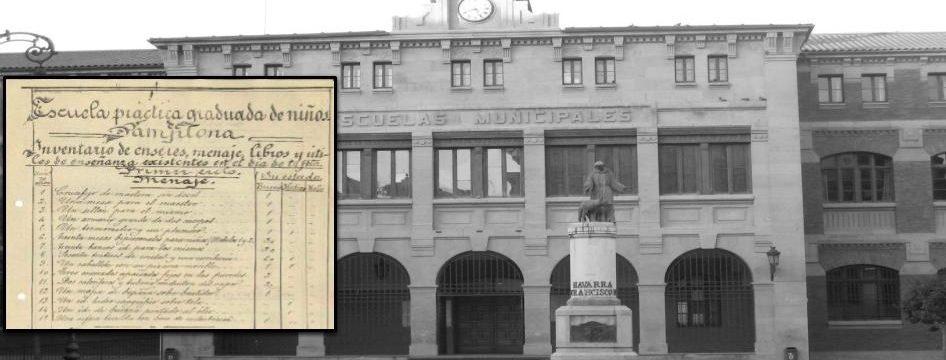 La escuela de San Francisco en el Archivo Contemporáneo de Navarra