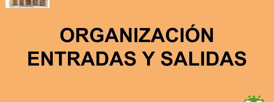 ENTRADAS Y SALIDAS DEL ALUMNADO